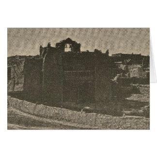 Adobe church Zuni Card