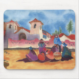 Adobe gathering mouse mat