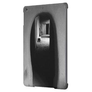 Adobe Passageway: Black & White photo Cover For iPad Air