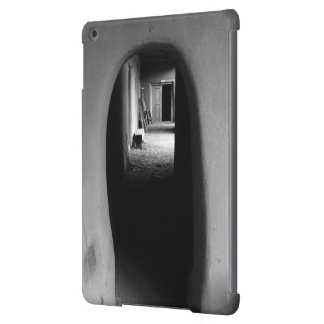 Adobe Passageway: Black & White photo iPad Air Case