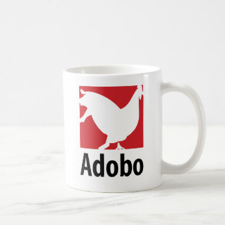 Adobo Basic White Mug