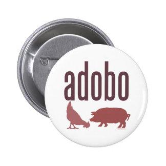 Adobo: Chicken & Pork 6 Cm Round Badge