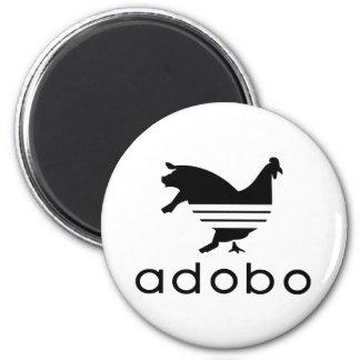 Adobo Chicken Pork 6 Cm Round Magnet