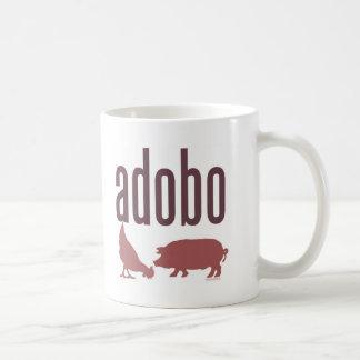 Adobo: Chicken & Pork Basic White Mug