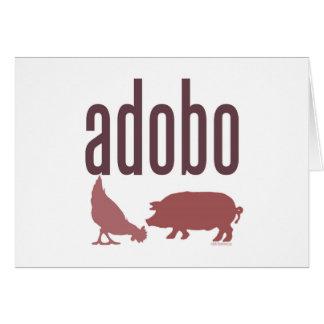 Adobo: Chicken & Pork Greeting Card