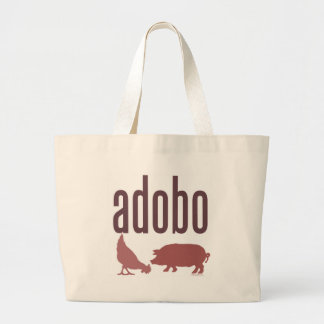 Adobo: Chicken & Pork Large Tote Bag
