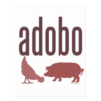 Adobo: Chicken & Pork Postcard