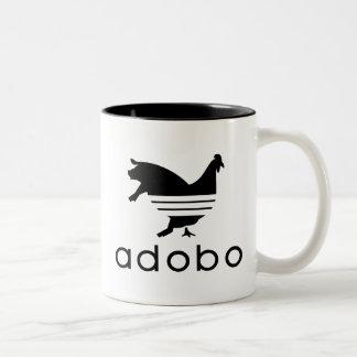 Adobo Chicken Pork Two-Tone Coffee Mug