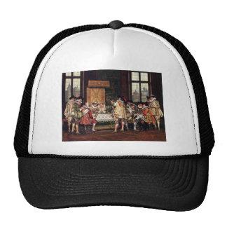 Adolphe Alexandre Lesrel A Musical Interlude Trucker Hats