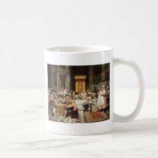 Adolphe Alexandre Lesrel Baptism of the Conde Basic White Mug