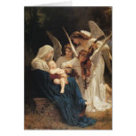 Adolphe-William Bouguereau. Song of the Angels Greeting Card