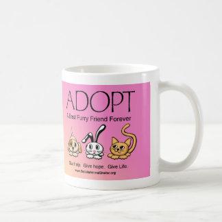 Adopt A Best Furry Friend Forever Coffee Mug