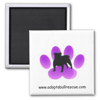 Adopt-a-bull, English Bulldog Rescue Magnet