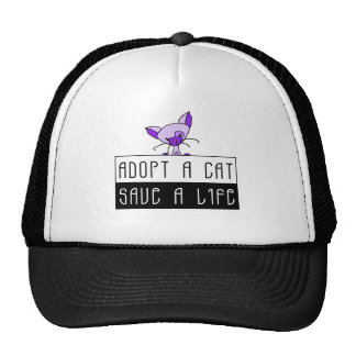 Adopt A Cat Save A Life Hat