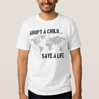 Adopt a Child - Worldview Tee Shirts