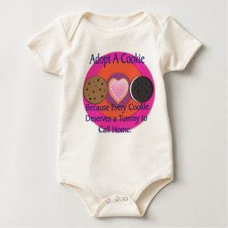 Adopt a Cookie Infant One Piece Baby Creeper