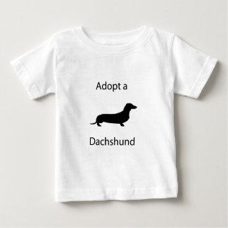 Adopt a Dachshund Baby T-Shirt