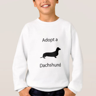 Adopt a Dachshund Sweatshirt