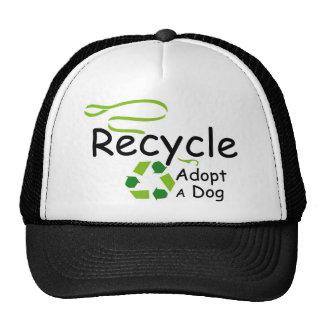 Adopt A Dog Trucker Hats