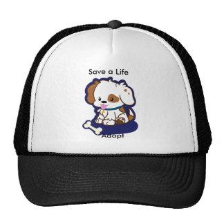 Adopt a Dog Mesh Hats