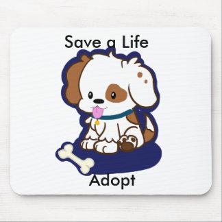 Adopt a Dog Mousepad