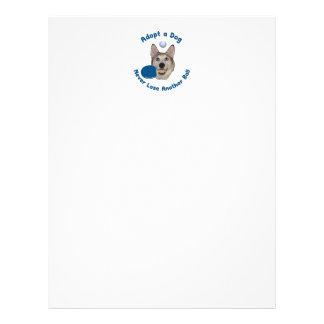 Adopt a Dog Ping Pong 21.5 Cm X 28 Cm Flyer