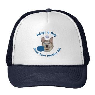 Adopt a Dog Ping Pong Mesh Hats