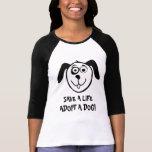 Adopt a dog t shirt for animal welfare