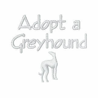 Adopt a Greyhound Dog Hoodies