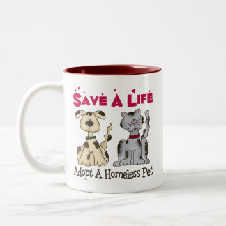 Adopt A Homeless Pet Mug