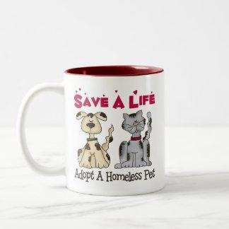 Adopt A Homeless Pet Mug