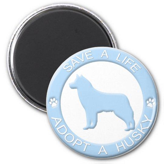 Adopt a Husky Magnet