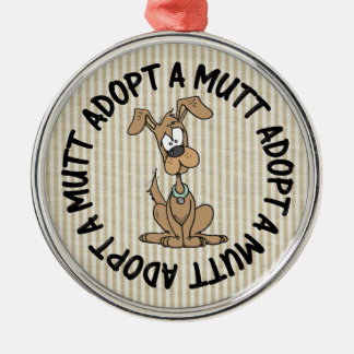 adopt a mutt christmas ornament