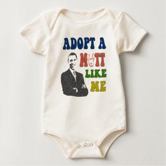 Adopt a Mutt Like Me Obama Infant Shirt