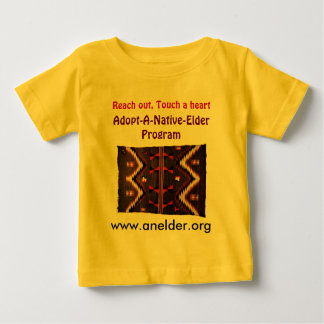 adopt a native elder infant shirt