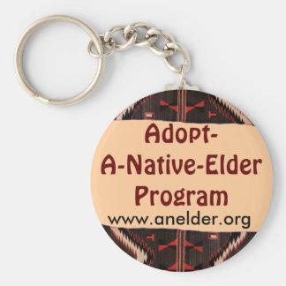 adopt a native elder keychain