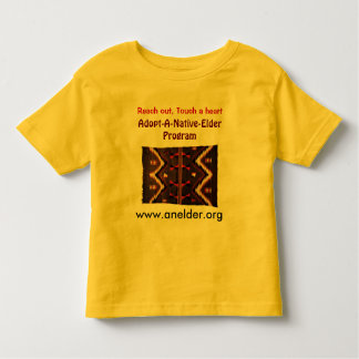 adopt a native elder toddler shirt