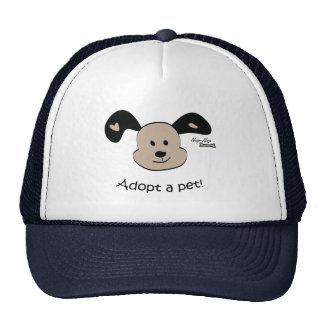 Adopt a pet hat