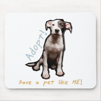 adopt a pet like me mousepad