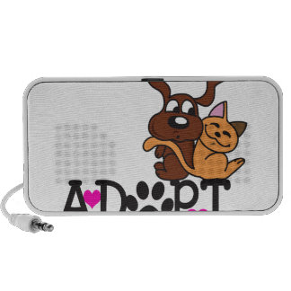 ADOPT A PET NOTEBOOK SPEAKERS