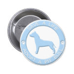Adopt a Pit Bull Button