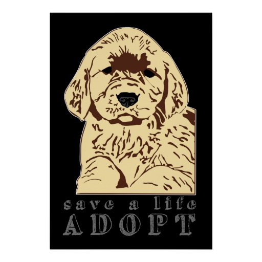 adopt-a-puppy print