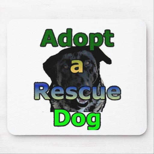 Adopt a Rescue Dog Mousepad