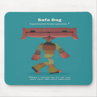 ADOPT A RESCUED DOG MOUSE PAD