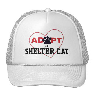 Adopt a Shelter Cat Cap