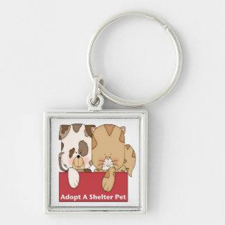 Adopt A Shelter Pet Keychains