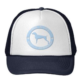 Adopt a Weimaraner Hat