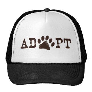 Adopt an animal mesh hats