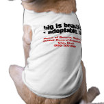 Adopt Big Beautiful Pets Sleeveless Dog Shirt