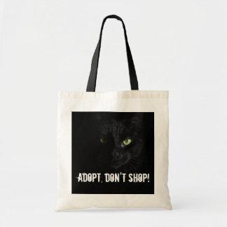 Adopt, don't shop tote bag